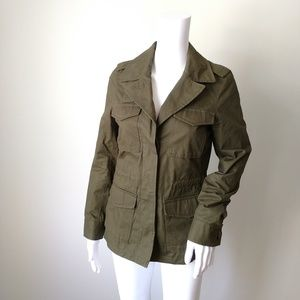 Brand new Madewell Outbound utility jacket green